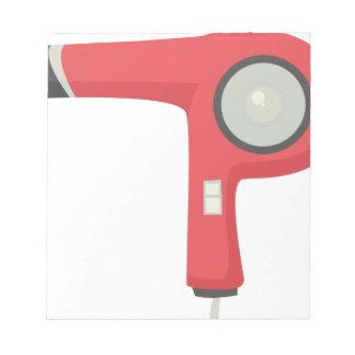 Hair Dryer Notepad