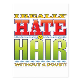 Hair Hate Face Postcard