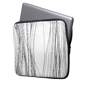 hair inferno laptop computer sleeve