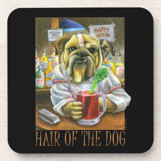 Hair of the Dog Drink Coasters