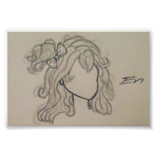 Hair Photographic Print