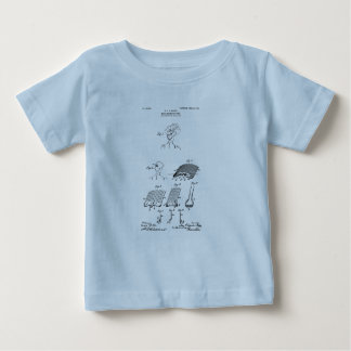 Hair retaining comb - Mary Carpenter, Inventor Baby T-Shirt