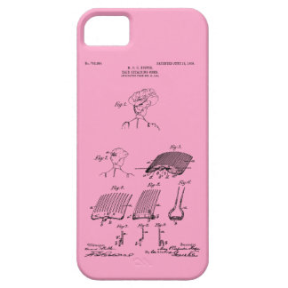 Hair retaining comb - Mary Carpenter, Inventor iPhone 5 Cover