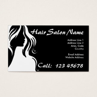 Hair Salon Business Theme Collection Business Card