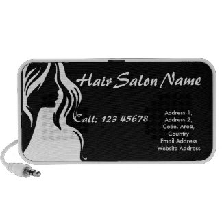 Hair Salon Business Theme Collection iPod Speakers