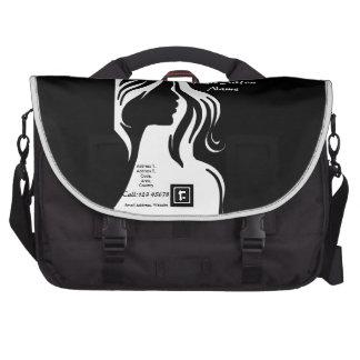 Hair Salon Business Theme Collection Computer Bag