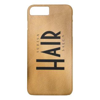 Hair Salon Copper Metallic iPhone 7 Plus Case