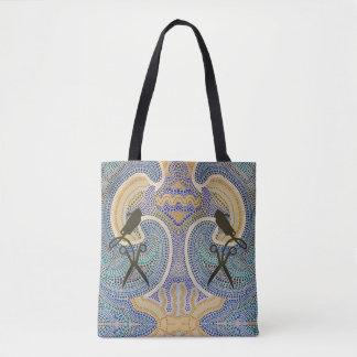 Hair Salon -DotSmart Aboriginal Style Art Tote Bag