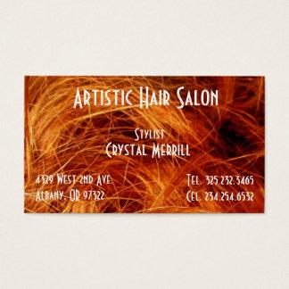 Hair Salon Stylist beauty Business Card