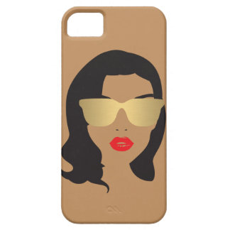 Hair Salon, Stylist, Beauty Girl II iPhone Case Case For The iPhone 5
