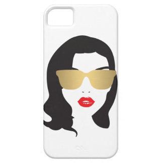 Hair Salon, Stylist, Beauty Girl iPhone Case iPhone 5 Cases