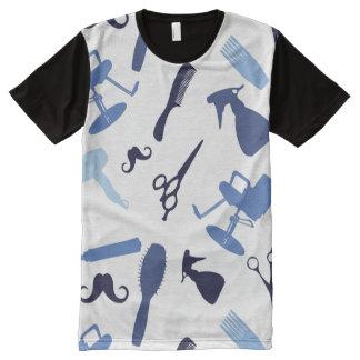 Hair salon tools pattern All-Over print T-Shirt