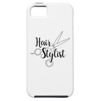 Hair Stylist Black iPhone 5 Covers