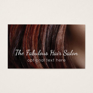 Hair Stylist Business Cards Beauty Salon Modern