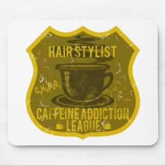 Hair Stylist Caffeine Addiction League Mousepads