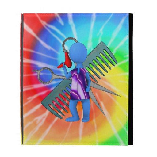 Hair Stylist iPad Folio Cover