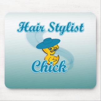 Hair Stylist Chick #3 Mousepad