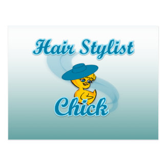 Hair Stylist Chick #3 Postcards