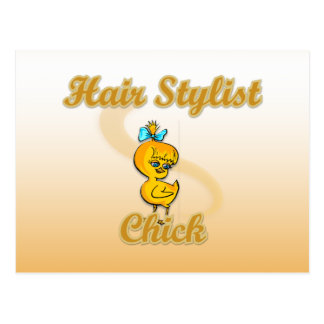 Hair Stylist Chick Postcards