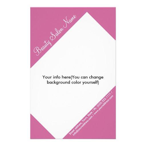 Hair Stylist/Cosmetologist Customizable Price List Custom Flyer
