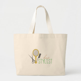 Hair Stylist Jumbo Tote Bag