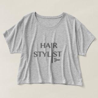 Hair Stylist Logo T-shirt