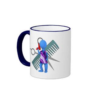 Hair Stylist Ringer Coffee Mug