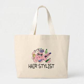 Hair Stylist Octopus Canvas Bag