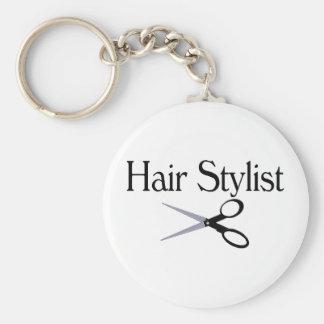 Hair Stylist Scissors Key Ring