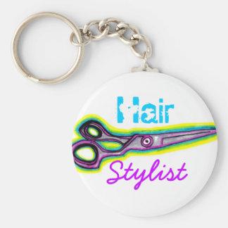 Hair Stylist Shears Keychain