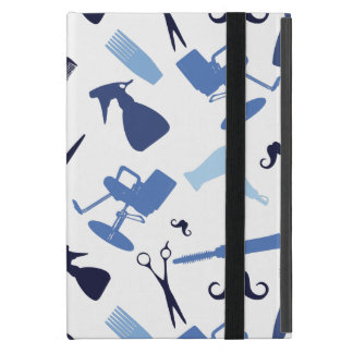 Hair stylist tools pattern iPad mini case