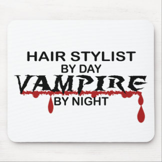 Hair Stylist Vampire by Night Mouse Mats
