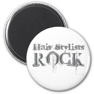 Hair Stylists Rock Magnet