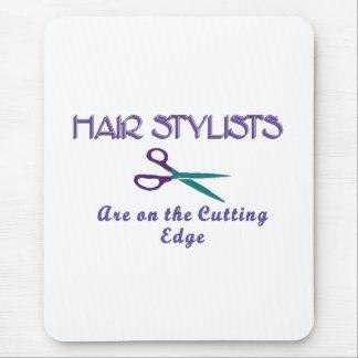 Hair Sytlists Cutting Edge Mouse Pad