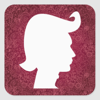 Hair Waxes Graphic Square Sticker