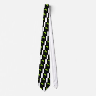 Hair with leaves tie