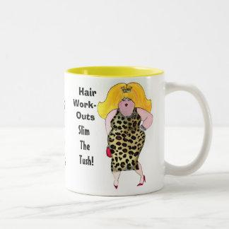 Hair WorkOuts Slim the Tush! mug