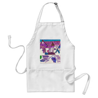 Hairball Alley Apron