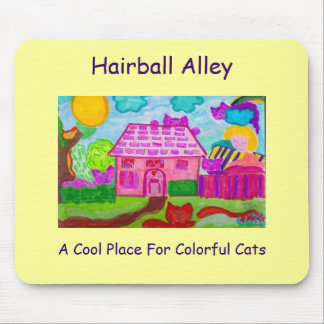 Hairball Alley Mousepad 2