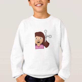 Haircut Emoji Sweatshirt