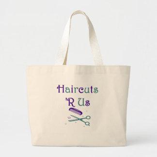Haircuts R Us Tote Bag