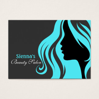 Hairdresser Appointment Card (Turquoise)