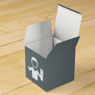 Hairdresser Barbers Graphic Party Favour Box