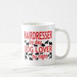 Hairdresser Dog Lover Mug