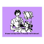 Hairdresser Humour - Of course I can keep a secret