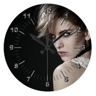 Hairdresser Large Clock