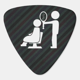 Hairdresser Stylists Graphic Guitar Pick
