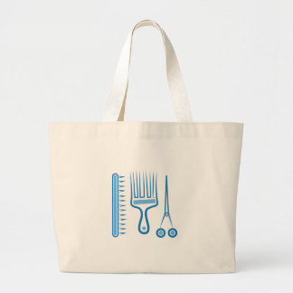 Hairdresser Tools Large Tote Bag