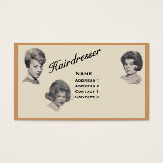 HAIRDRESSER - VERY PROFESSIONAL PROFILE CARD 3