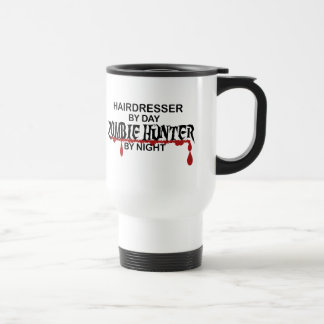 Hairdresser Zombie Hunter Travel Mug